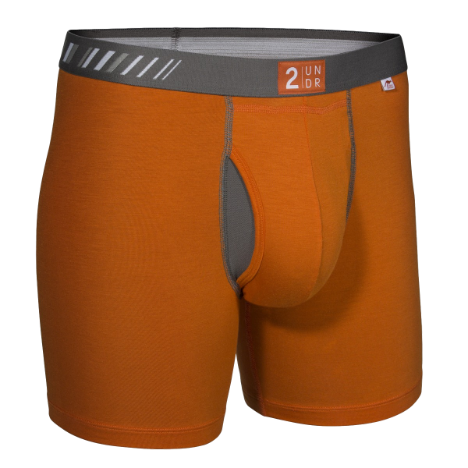 2UNDR Swing Shift Orange / Grey