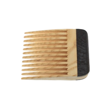 Stick A Comb In It Beard Comb Ash With a Wenge Handle