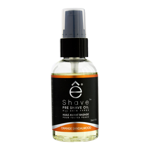 eShave - Pre Shave Oil Orange Sandalwood 2 oz