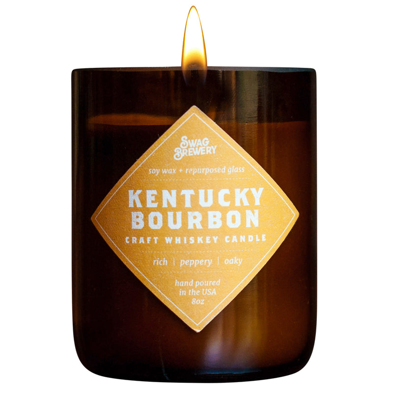 Kentucky Bourbon Brew Candles