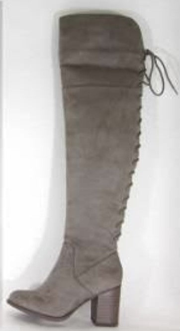 Rorie Heel Boot (Taupe)