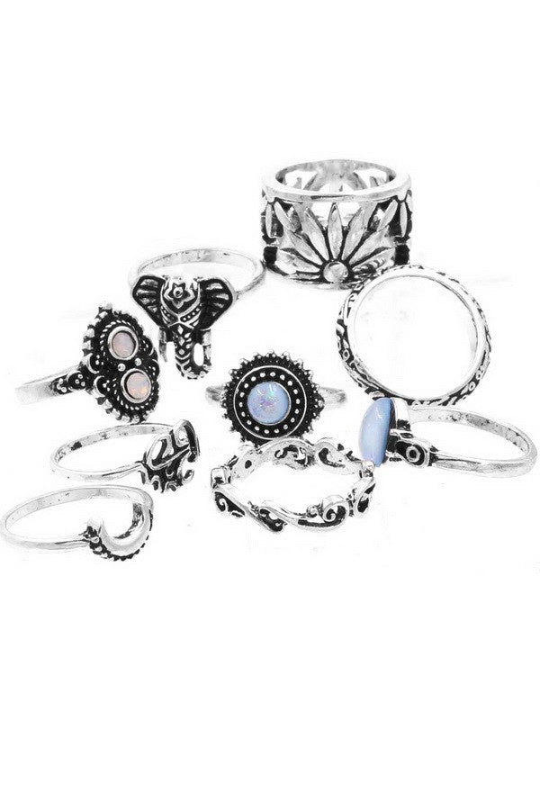 Always Remember Ring Set (Silver)