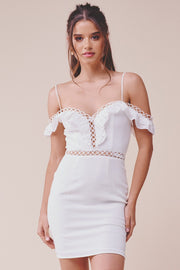 Viona Lace Bodycon Dress - FINAL SALE