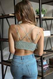 Day Dream Bralette (Sage)