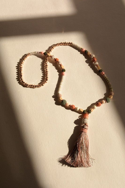 Marrakesh Tassel Necklace