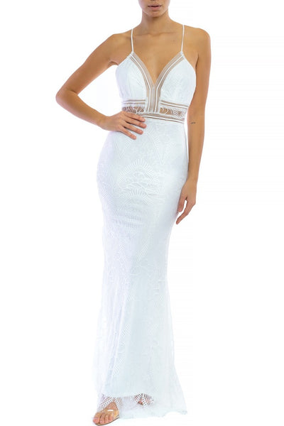 Yasmine Lace Gown - FINAL SALE