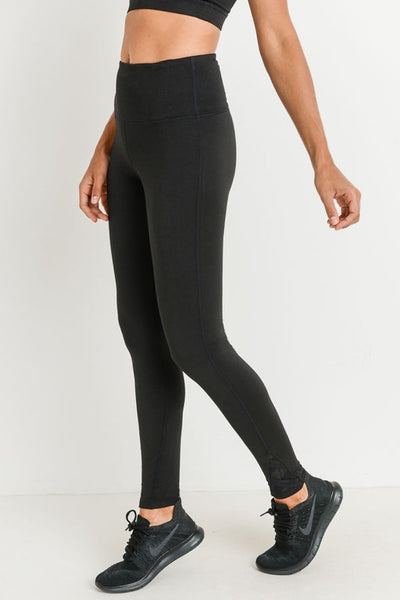 Work For It Premium Leggings (Black)