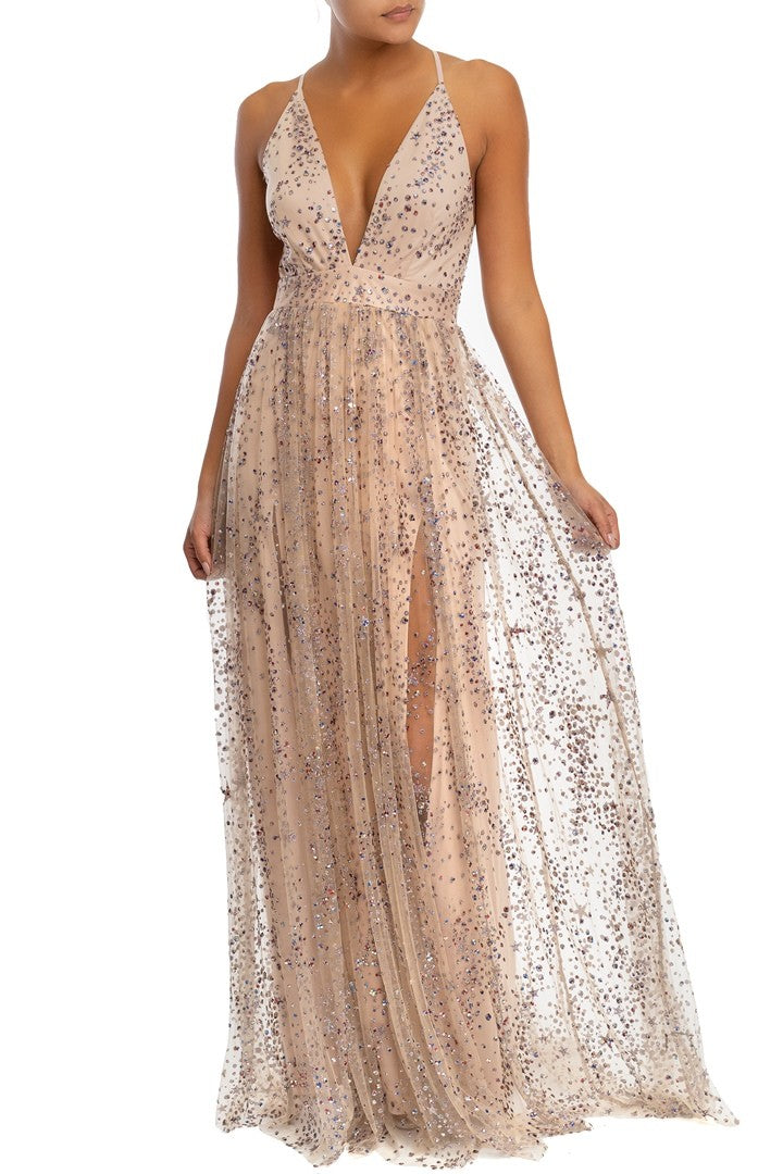 Limited Edition The Moon And The Stars Gown - FINAL SALE