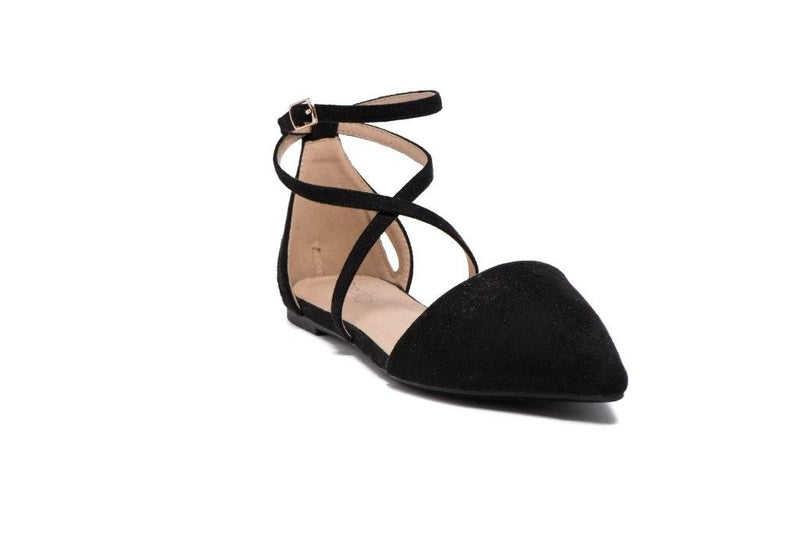 On Pointe Flats (Black) - FINAL SALE