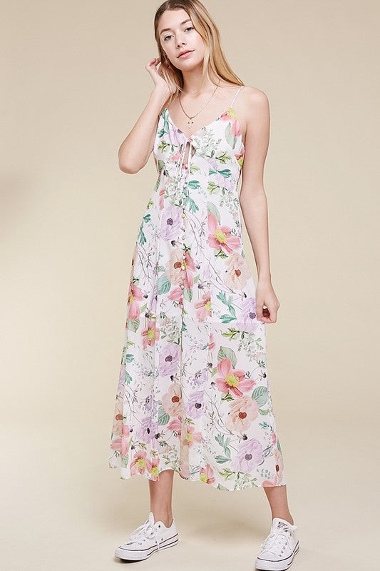 Lille Floral Button Up Maxi