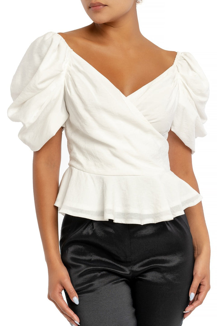 Vogue Puff Sleeve Blouse