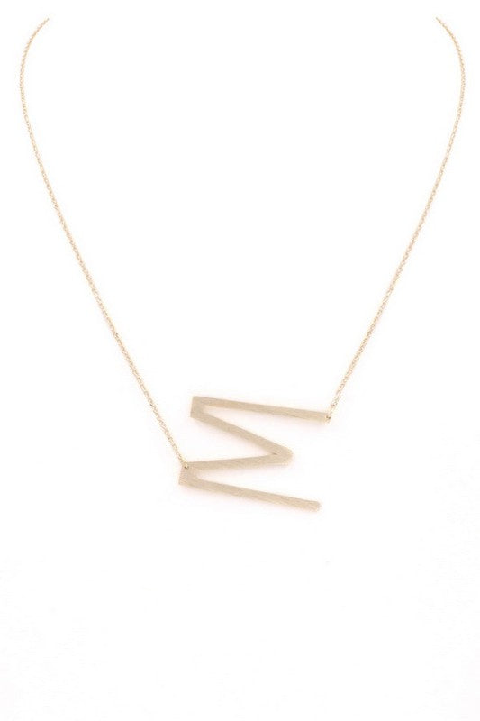 Large Letter Necklace (M)
