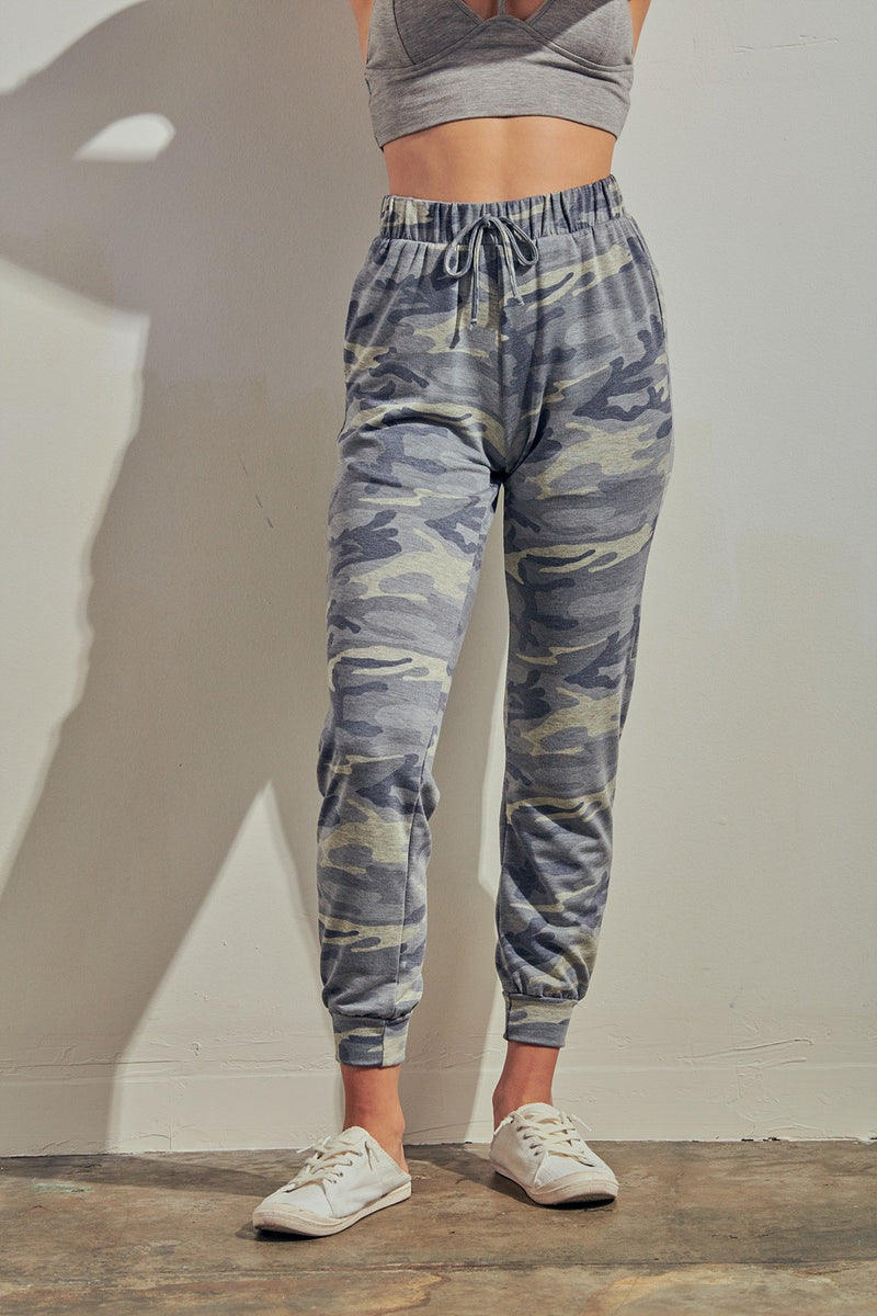 Under Covers Camo Joggers (Blue Grey)