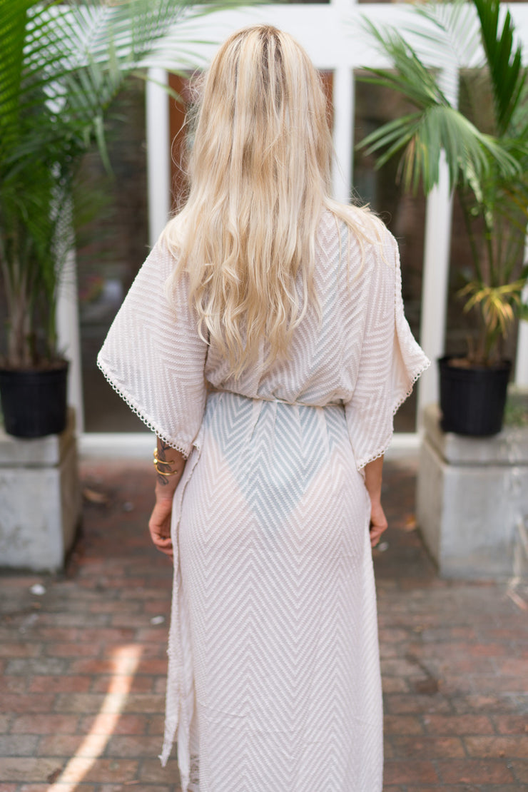 Mink Lace Kaftan - FINAL SALE