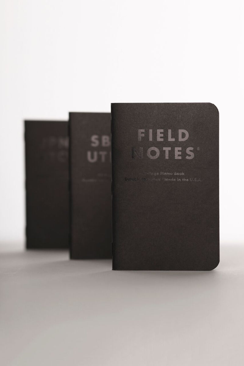 Field Notes - Clandestine 3-Pack