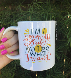I'm A Grown Ass Lady Mug