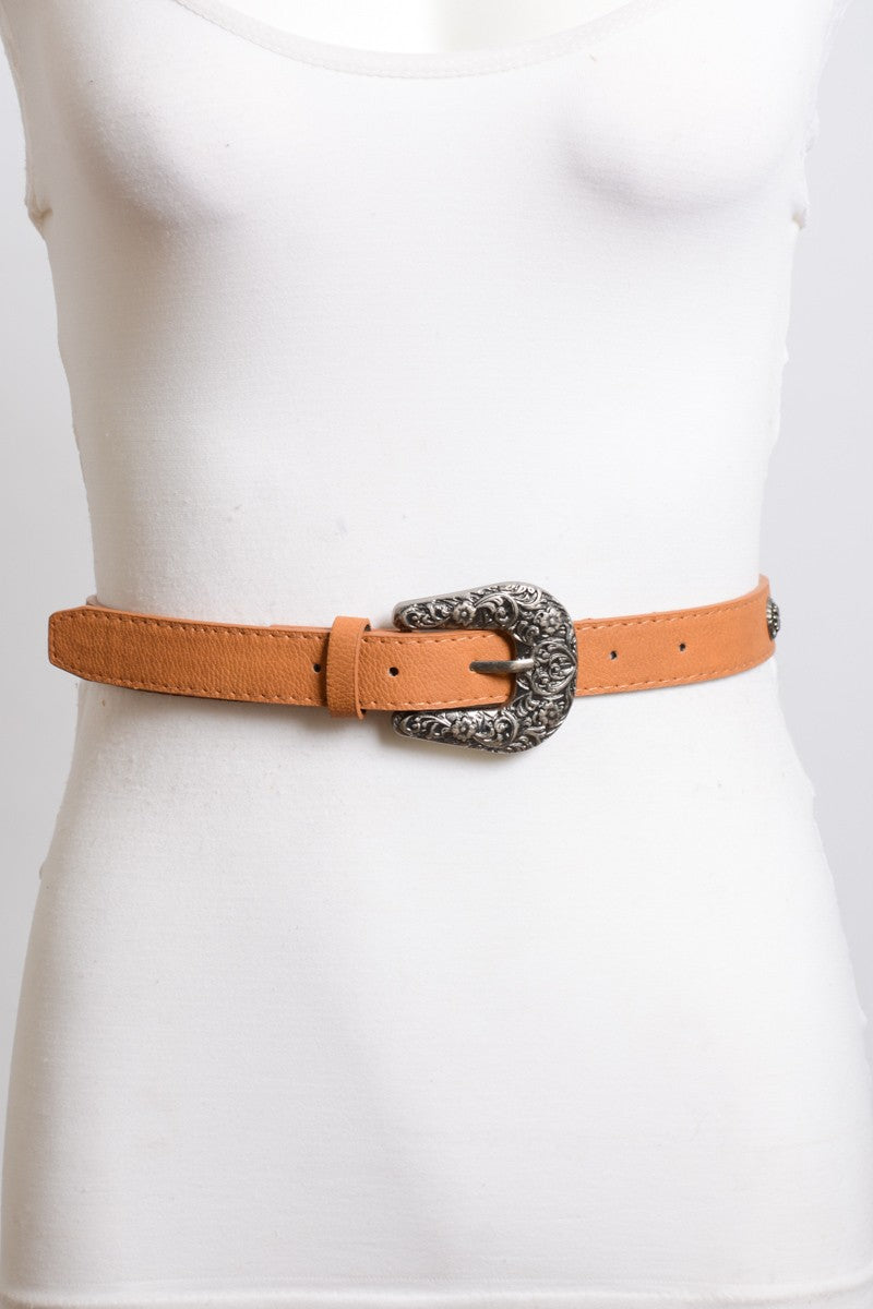 Out West Belt (Camel)
