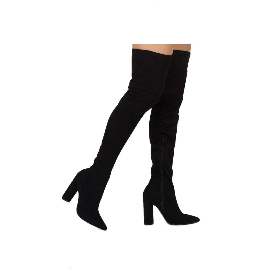 Starry Eyed Over The Knee Boots