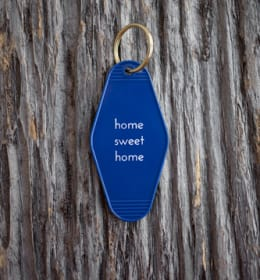 Home Sweet Home Motel Key Tag