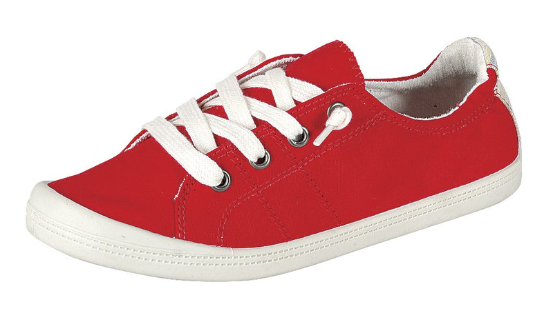 Keep It Easy Slip Ons (Red) - FINAL SALE