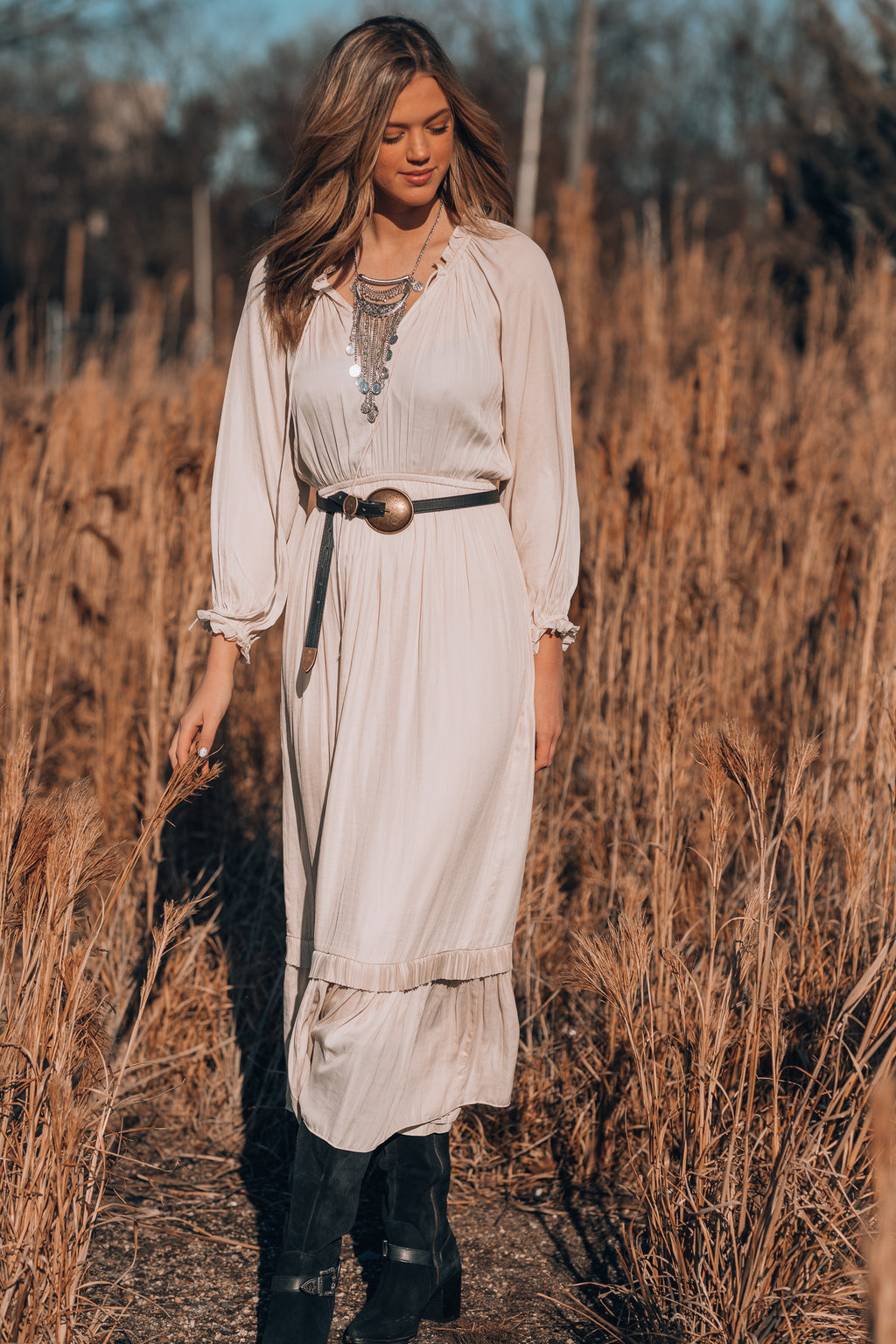 Nightingale Peasant Dress - FINAL SALE