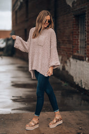 Lilac Cozy Sweater