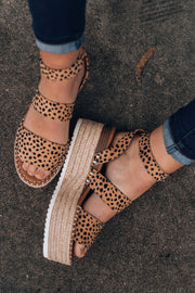 Born To Be Wild Cheetah Sandals