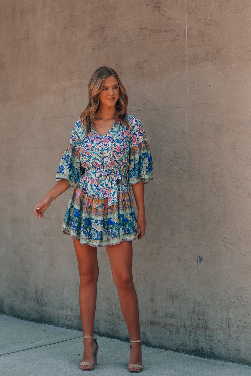 World Traveler Mini Dress
