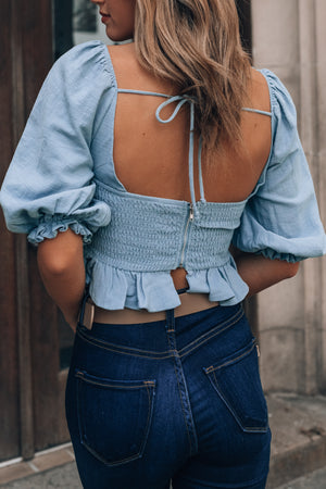 Princesa Crop Top (Storm)