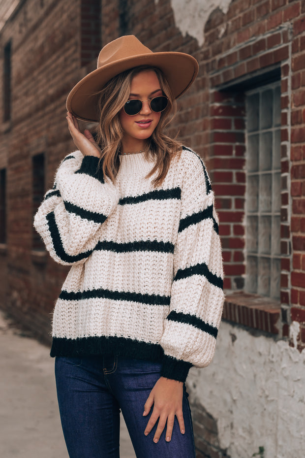 Nora Striped Sweater