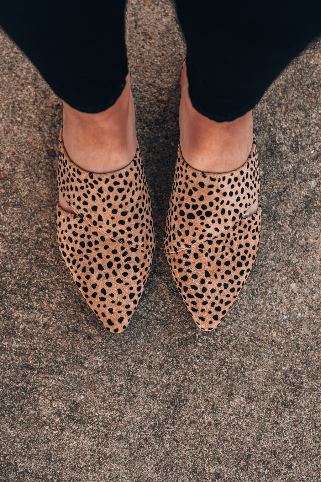 Casual Friday Cheetah Mules - FINAL SALE