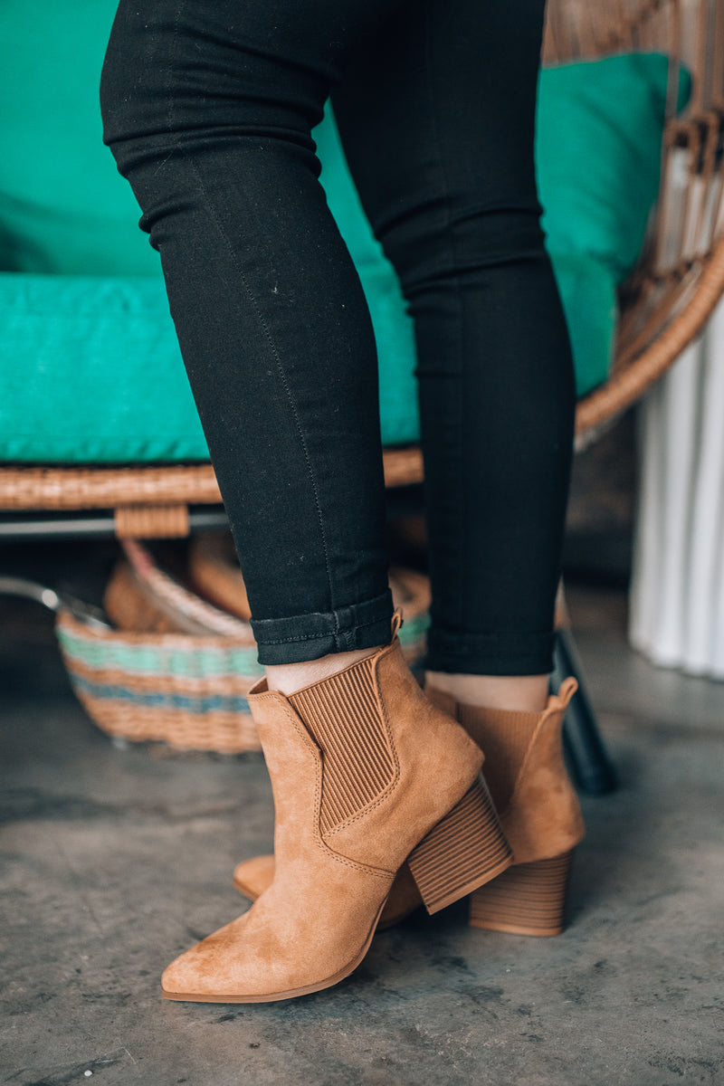 Violet Hour Ankle Booties
