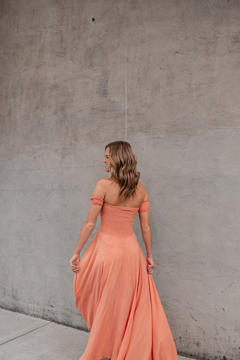 Harmony Hi-Low Dress (Sunset)