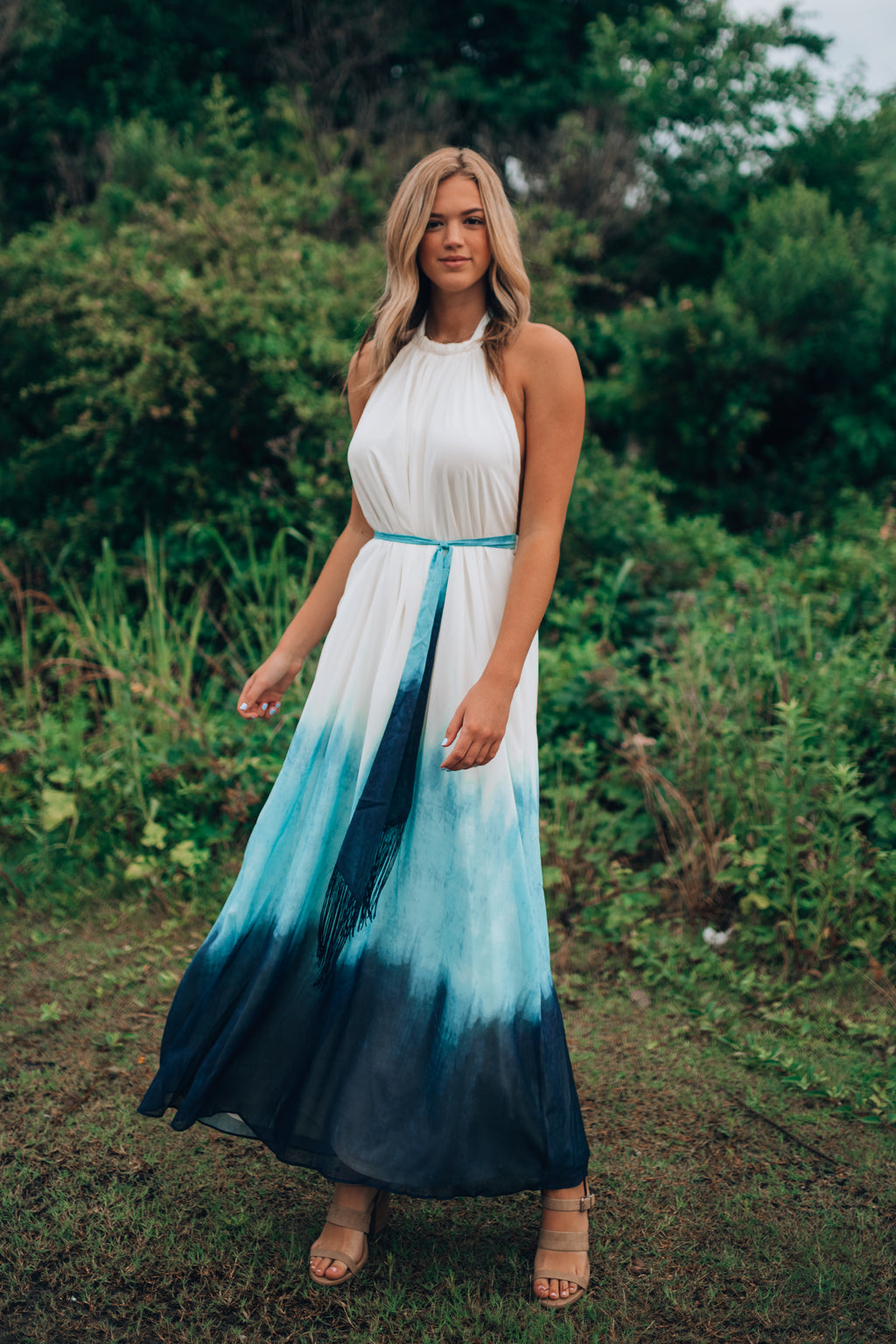 Lennox Ombre Maxi Dress