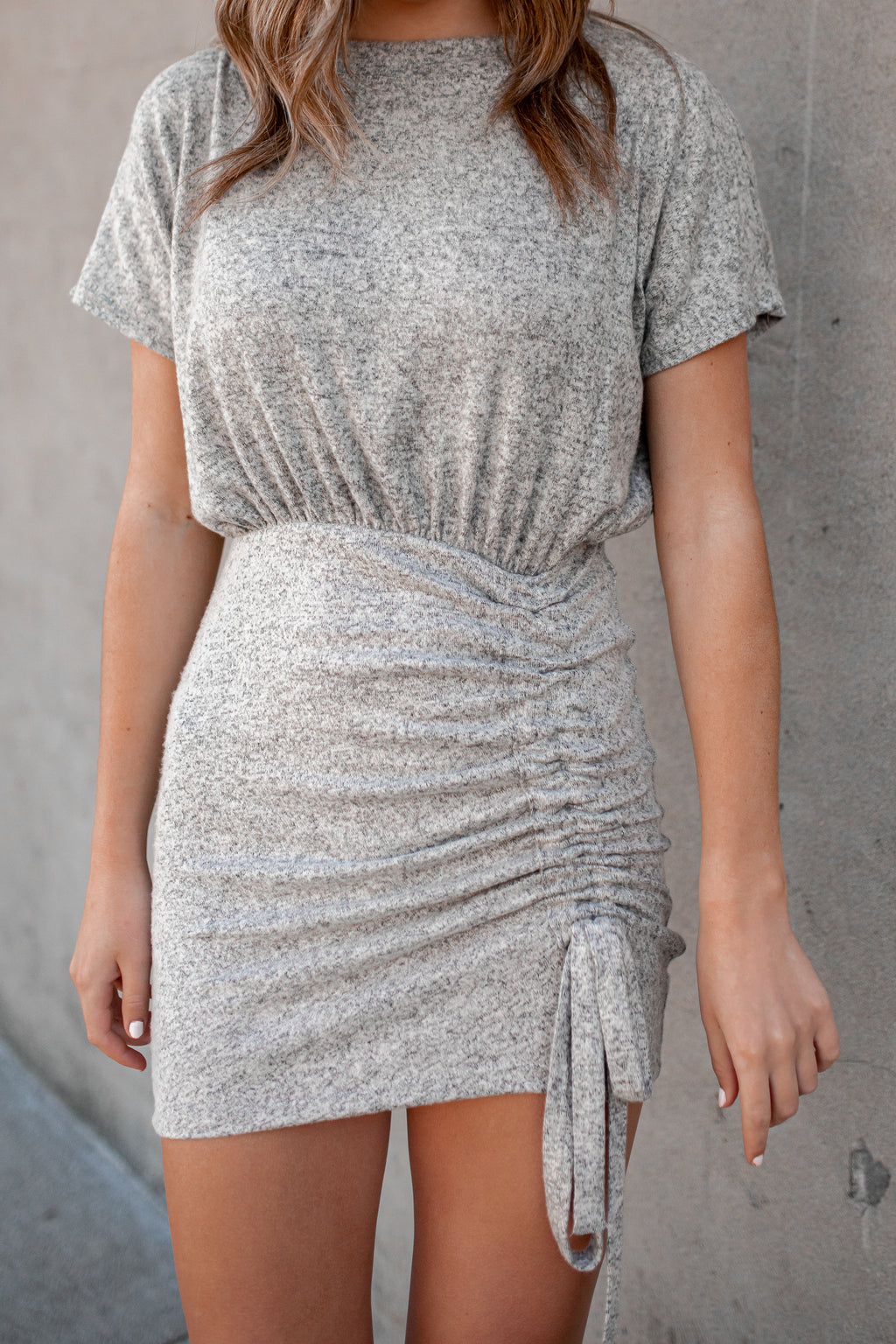 Ready To Escape Cinched Mini Dress