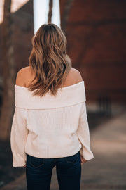 Alii Off Shoulder Sweater