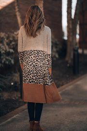 On The Hunt Leopard Cardigan