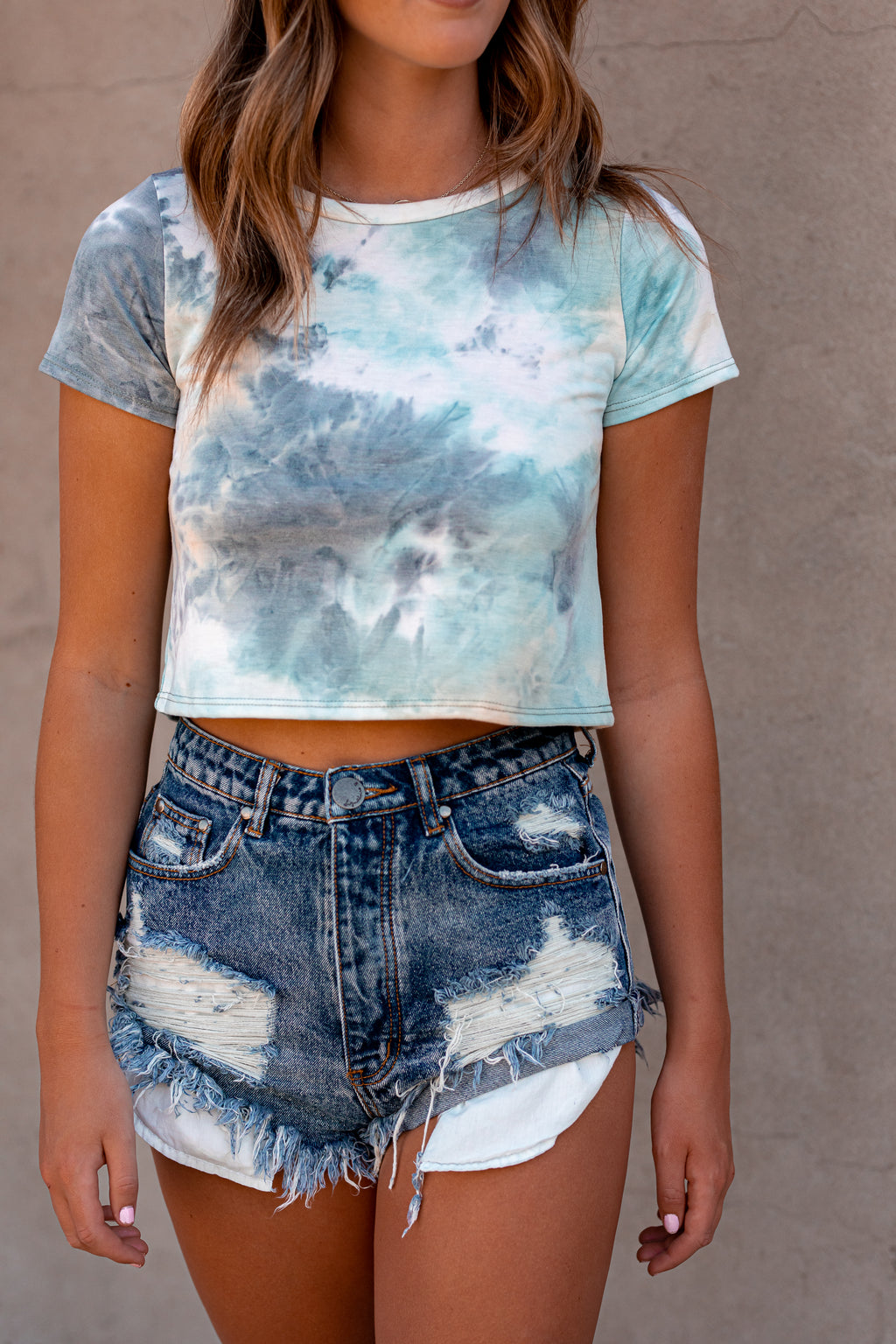 Cloud 9 Tie Dye Top