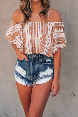 Golden Sun Crop Top