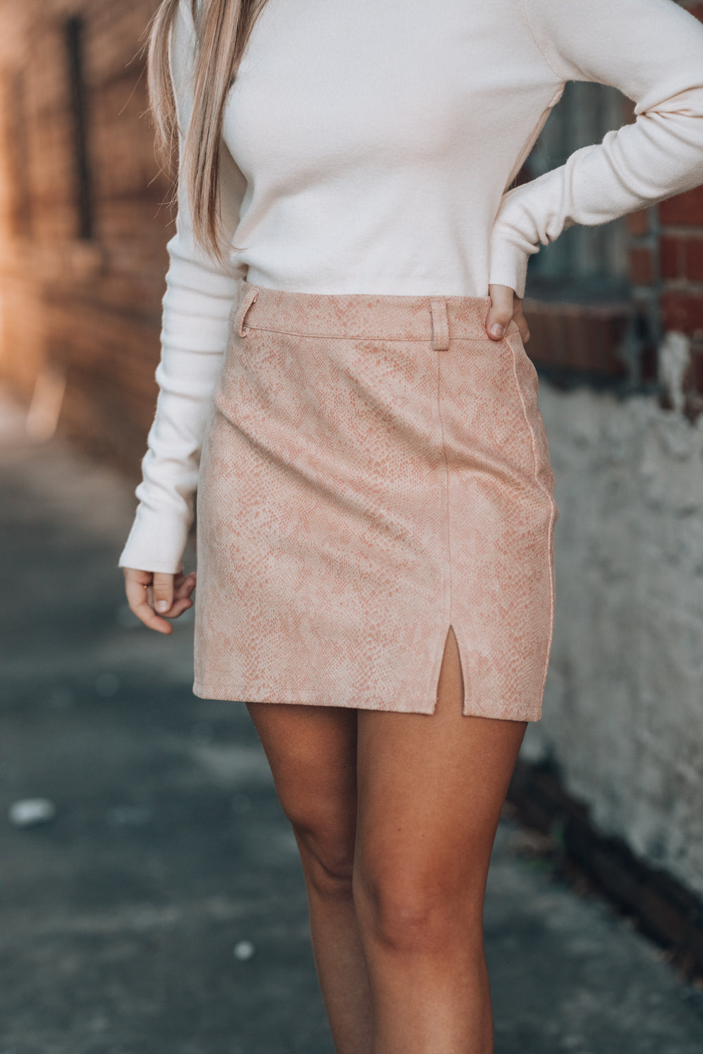 Party Animal Python Skirt