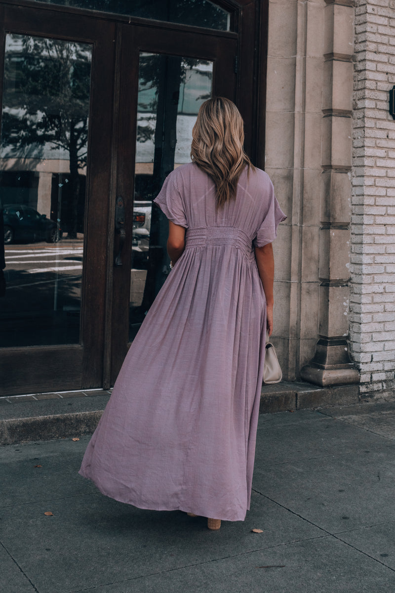 Wanderer Duster (Faded Plum)
