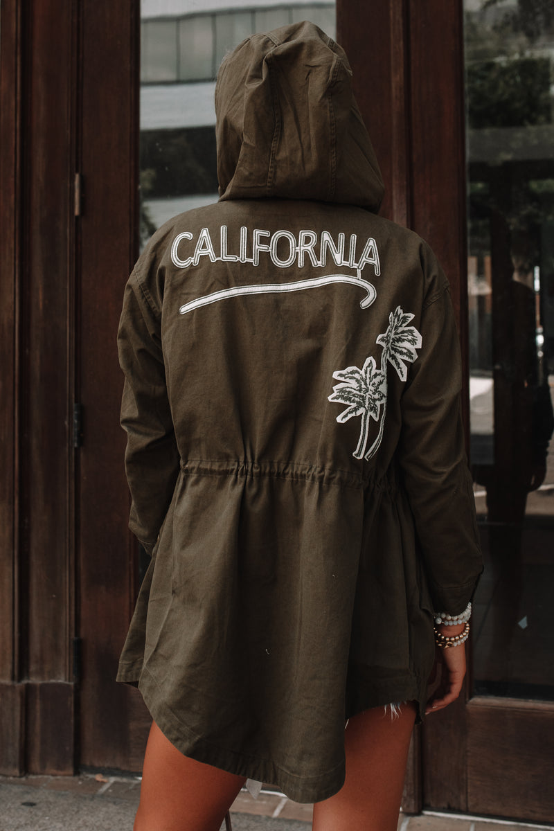 California Dreaming Utility Jacket