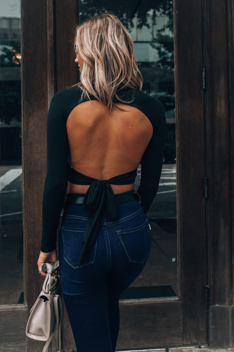 Montico Backless Crop Top