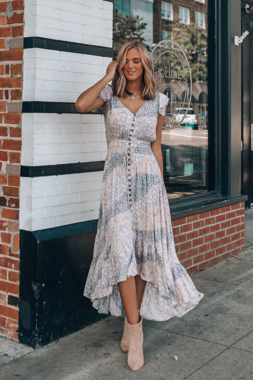 Moving Mountains Maxi Dress