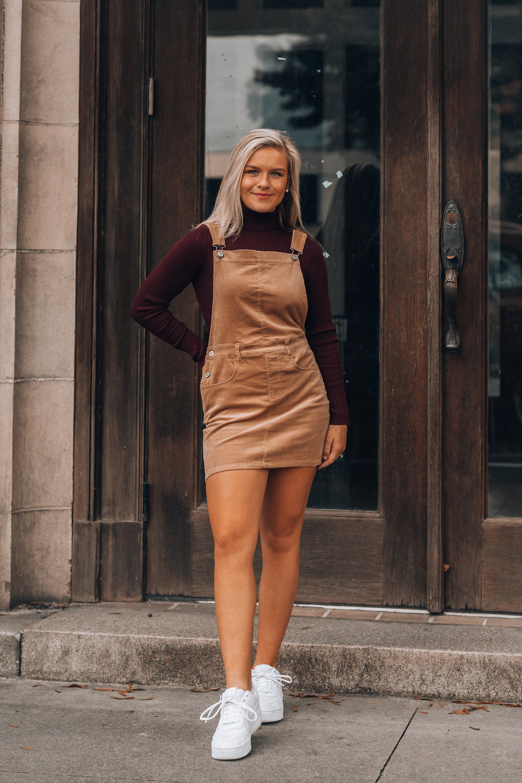 Warm Me Up Turtleneck Bodysuit (Wine)