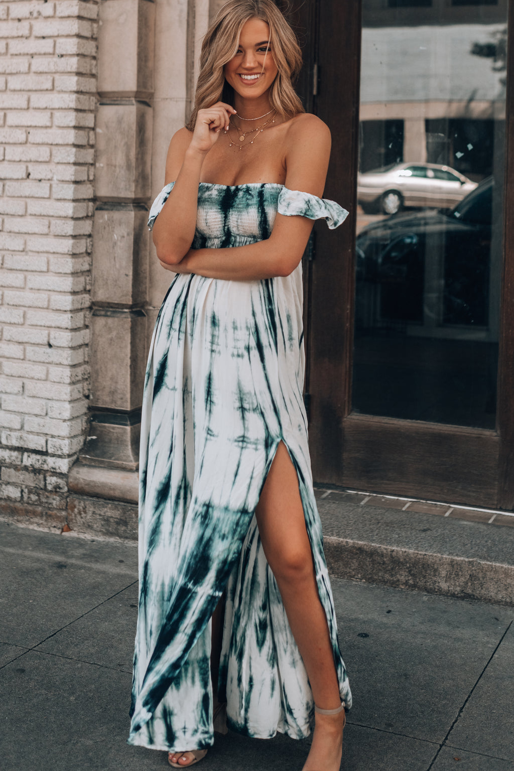 Brooke Tie Dye Maxi Dress