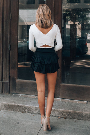 Petaluma Mini Skirt (Black)