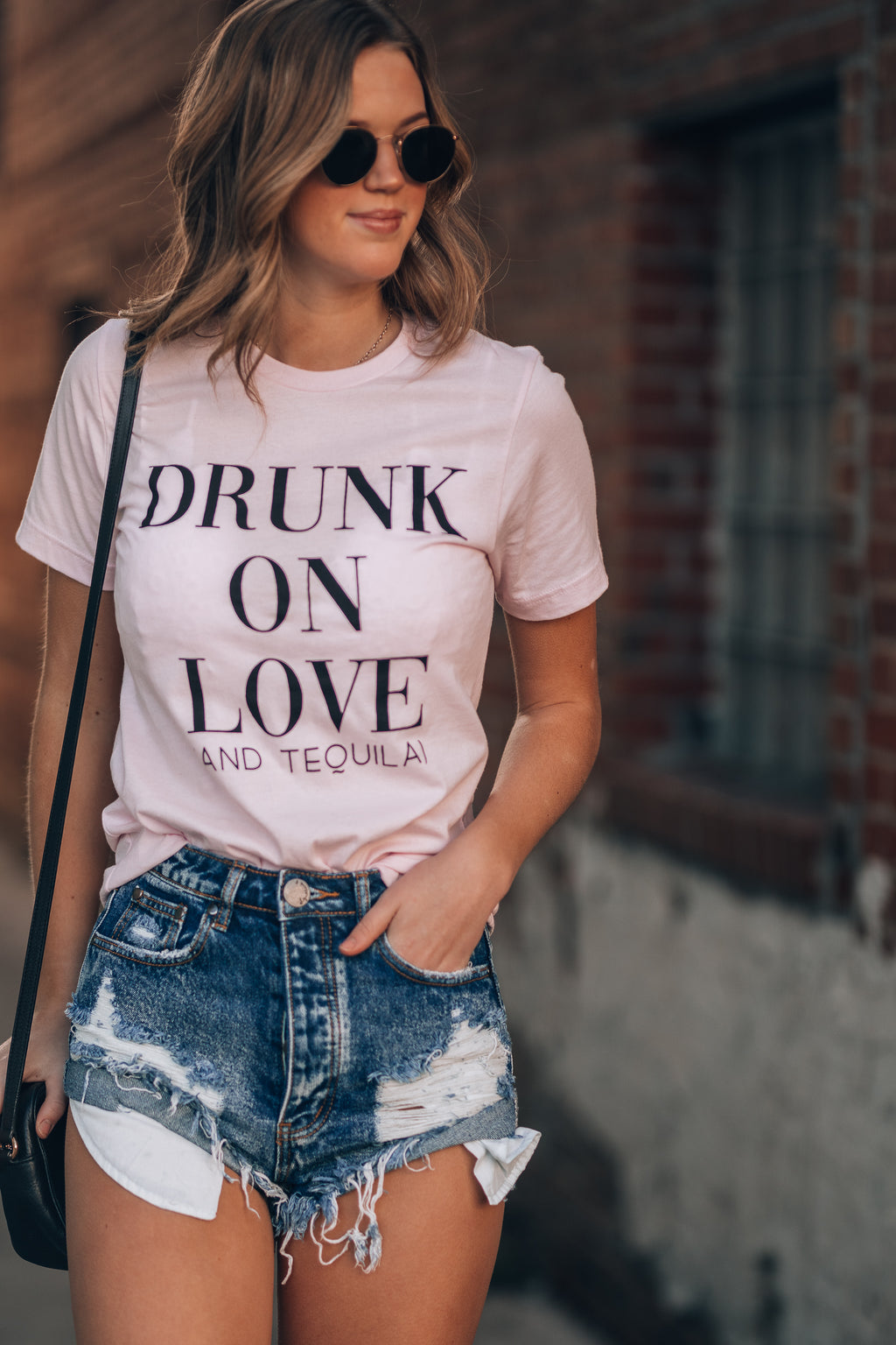 Drunk On Love Tee
