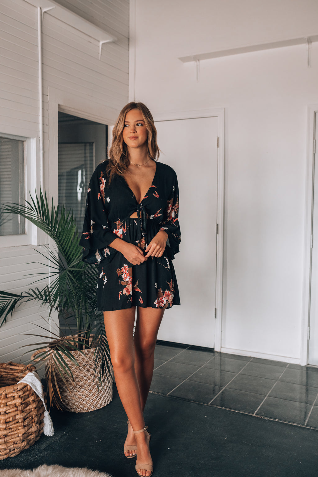 Pasadena Floral Mini Dress