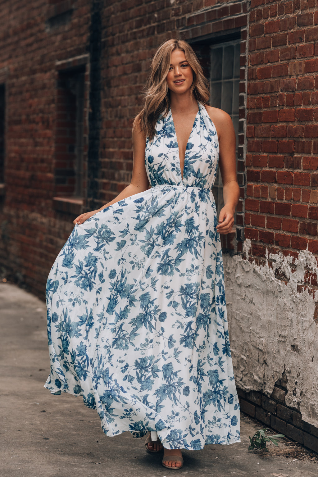 Eleanor Floral Maxi Dress
